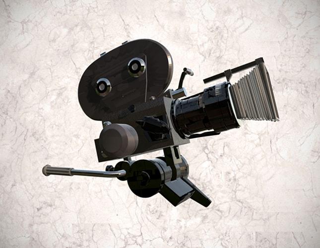 Cámara Arriflex de 35mm