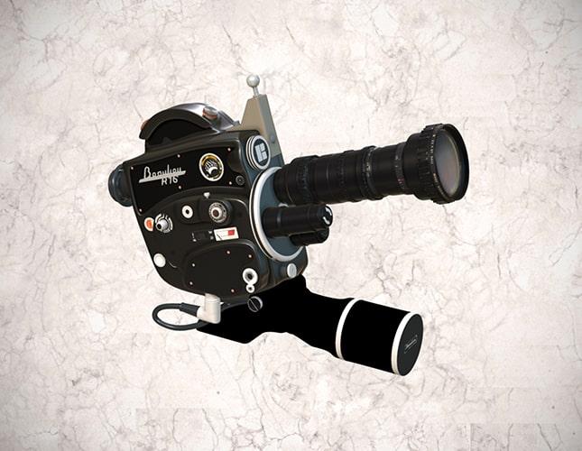Cámara cinematográfica Beaulieu 16 mm
