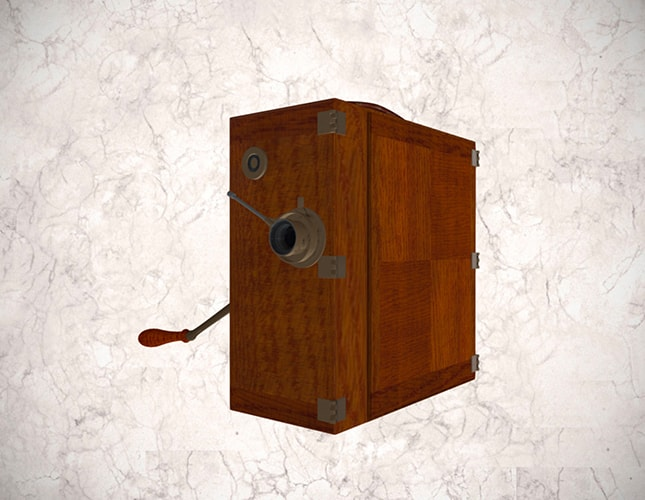 Cámara tomavistas Erneman de 35 mm