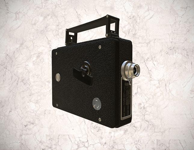 cámara tomavistas Kodak de 8mm