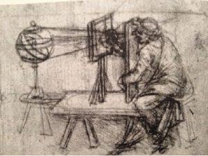 Cámara oscura Da Vinci