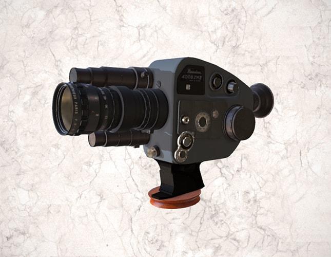 camara super 8 mm