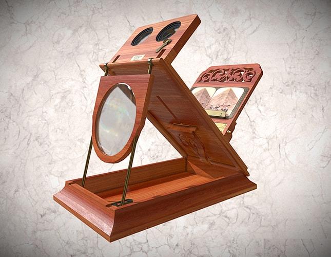 Visor estereografoscopio