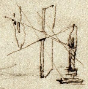fenómeno de entrecruzamiento de Da Vinci