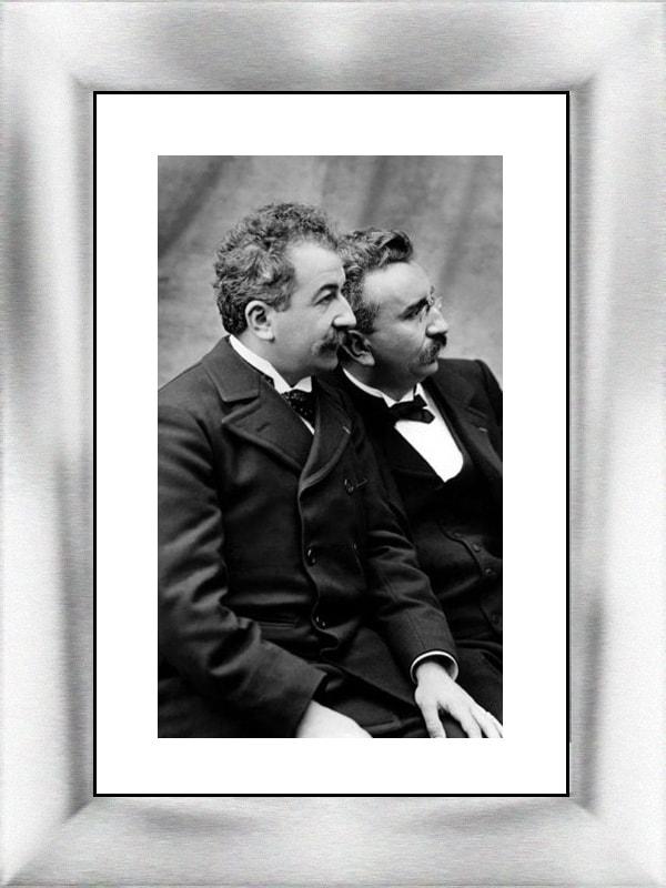 Hermanos Auguste y Louis Lumière