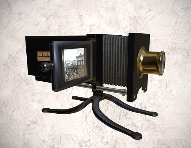 Proyector Beseler Stereopticon