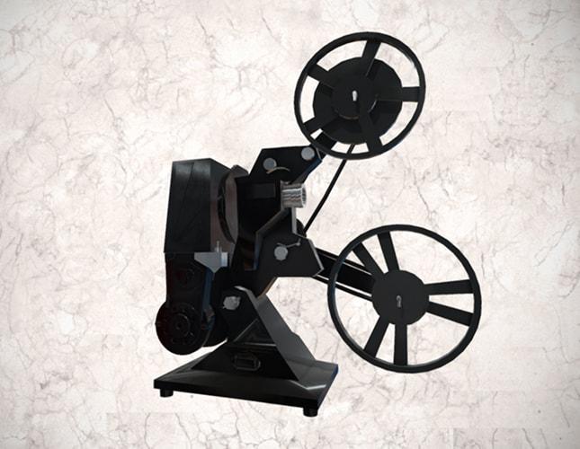 Proyector Pathéscope 200B, de 9.5 mm