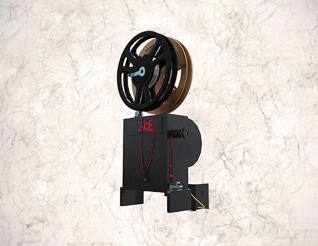 Proyector cinematográfico Pathéscope Ace de 9.5 mm