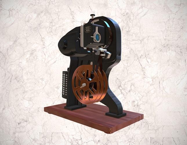 Proyector cinematográfico Zeiss Ikon de 16 mm