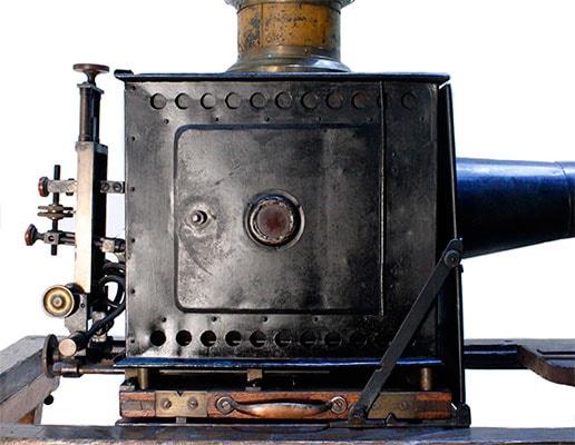 proyector pathe freres de 35 mm