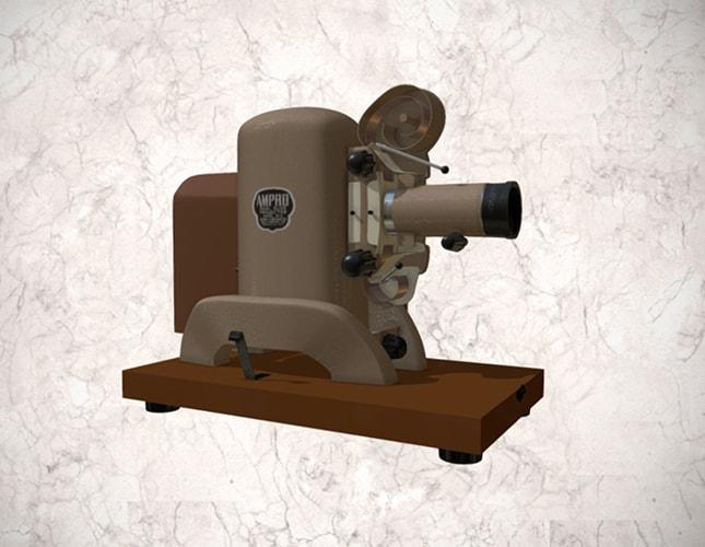 proyector ampro 35mm
