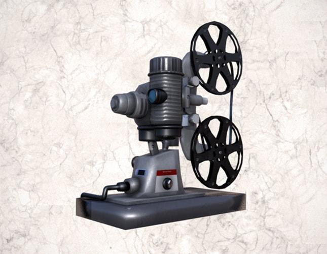Proyector Bell & Howell de 8 mm