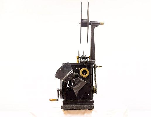 proyector hechizo 35 mm carretes abiertos