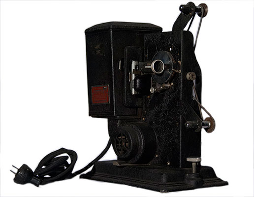 proyector keystone 8mm